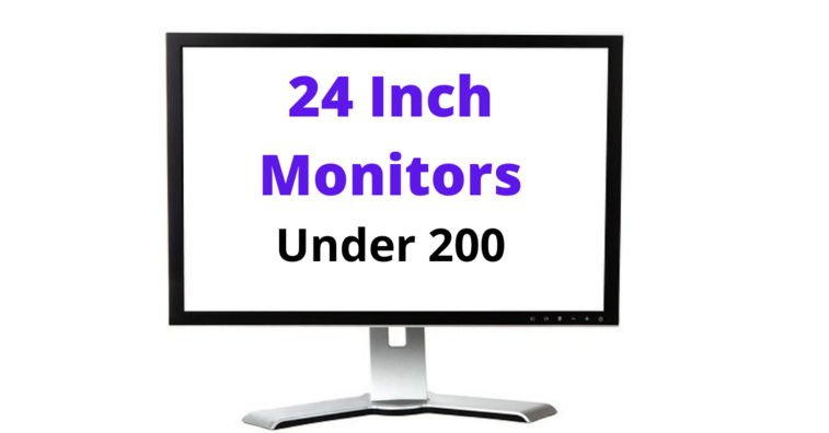best 24 inch monitor under 200