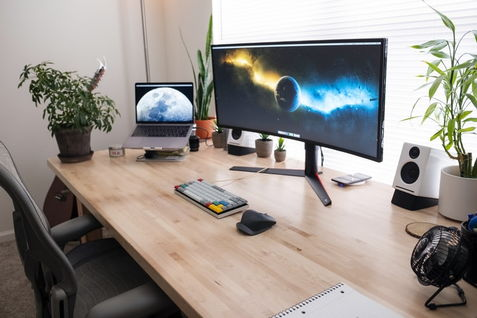 advantages of a curved monitor